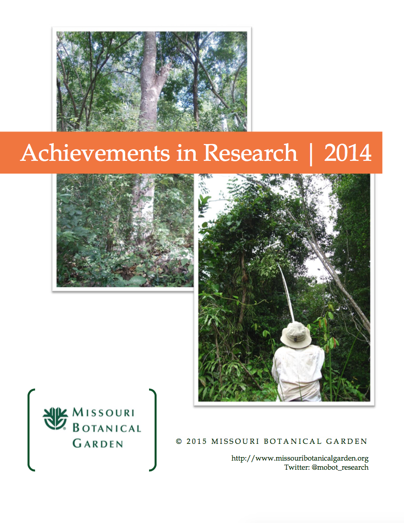 Research Annual Report cover