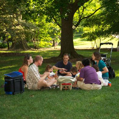 Member Family Picnic Missouri Botanical Garden
