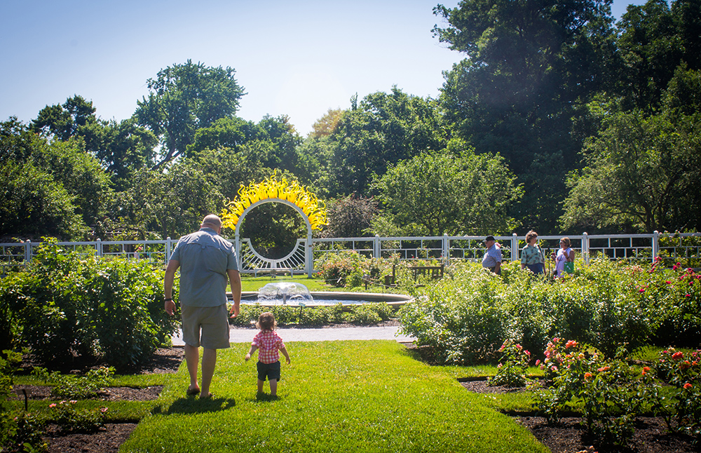 Throughout the month of august aetna and the missouri botanical