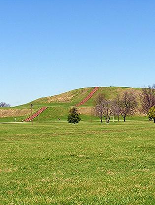 Monks Mound at Cahokia