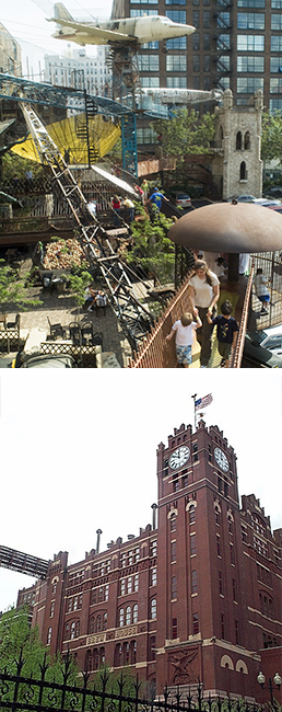 City Museum and Anheuser-Busch Brew House