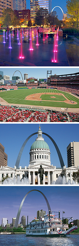 Downtown St. Louis attractions