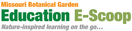 Missouri Botanical Garden E-Scoop logo