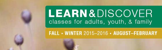 Fall/Winter 2015/2016 Classes