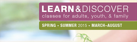 Spring Summer 2015 catalog cover
