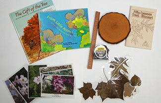 Trees, Trees, Trees Family Backpack contents