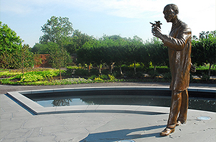 Statue of George Washington Carver in the Carver Garden