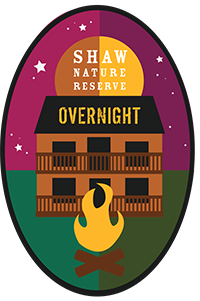 Shaw Nature Reserve overnight badge