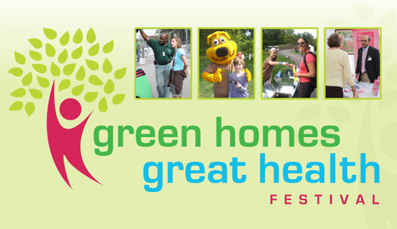 Green Homes and Great Health Festival logo