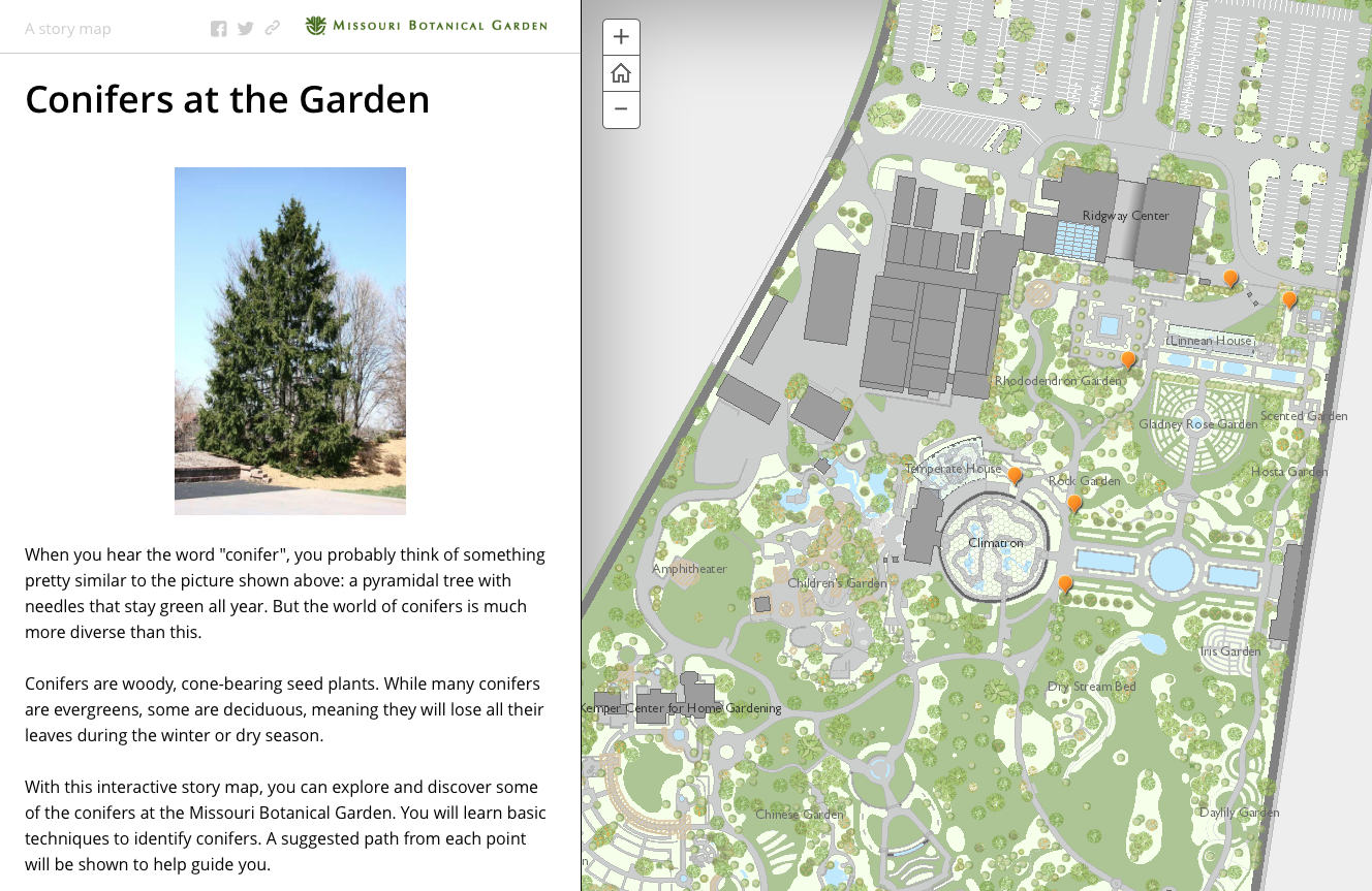 StoryMap screenshot