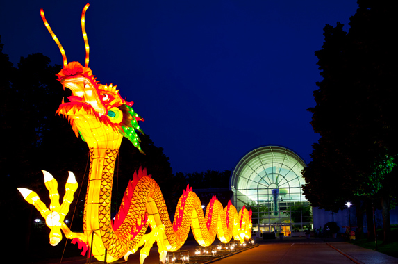 Lantern festival magic reimagined Missouri botanical garden lantern festival