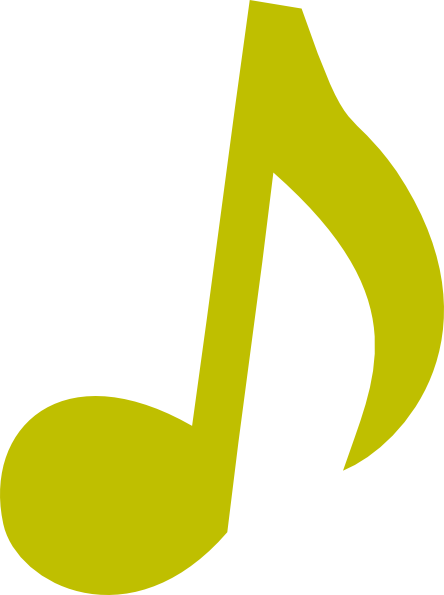 green music note