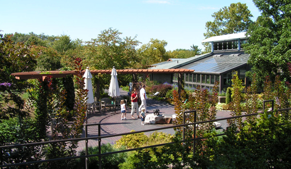 Kemper Center terrace