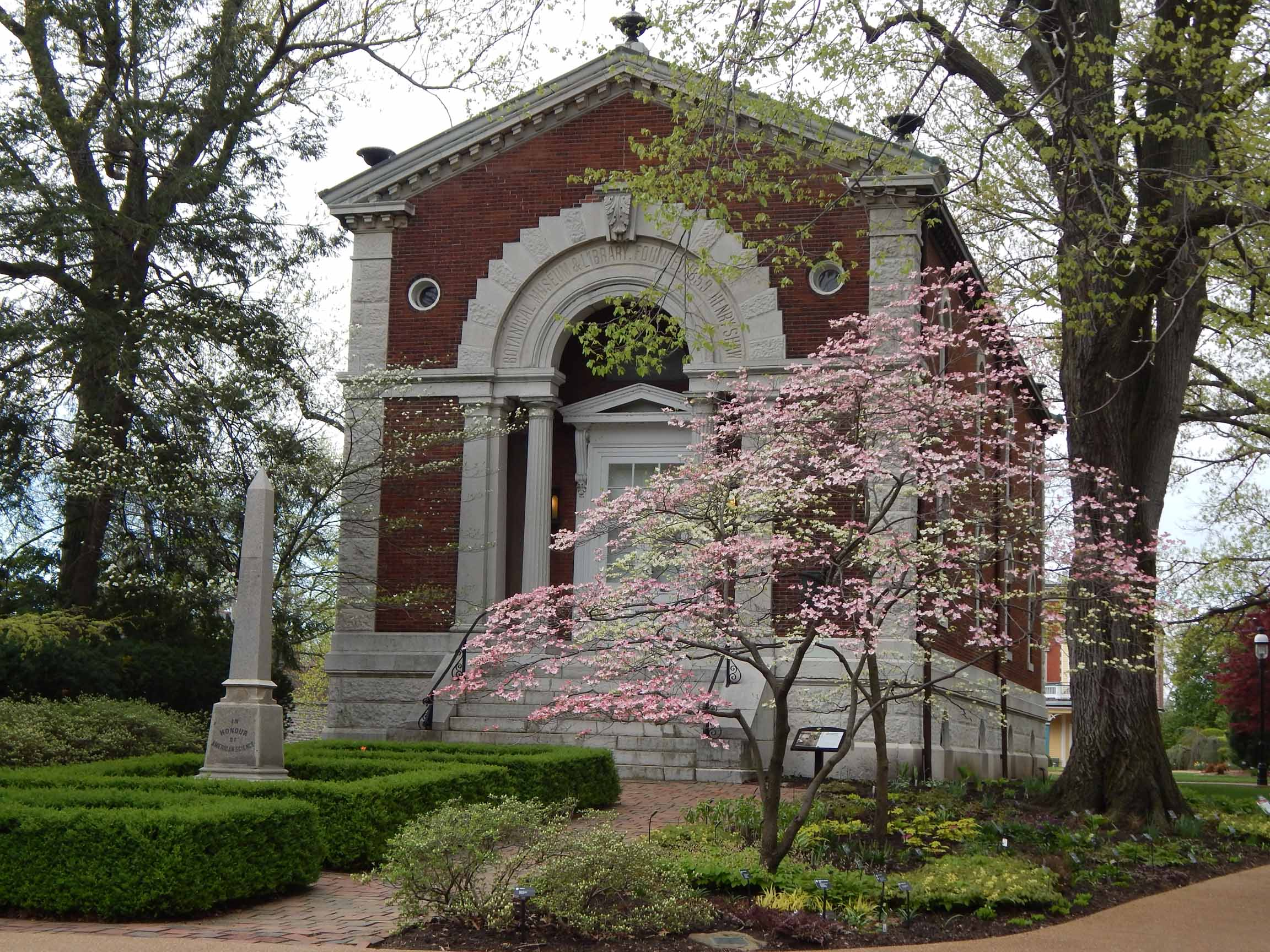 Museum and Dogwoods
