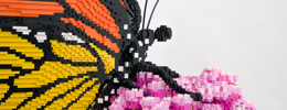 LEGO brick butterfly