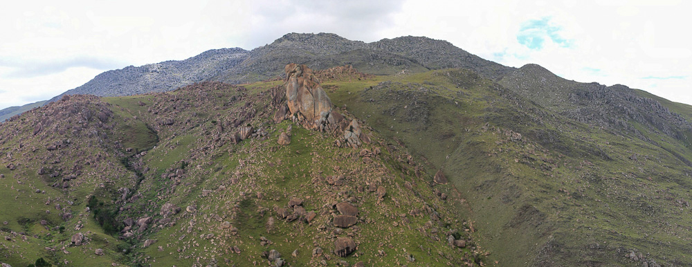 Mountaintop in Itiby Madagascar