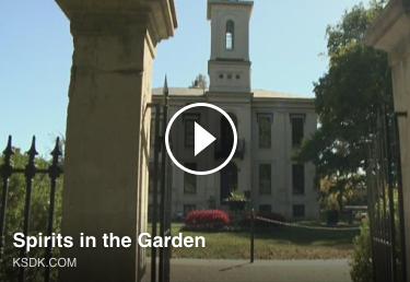 Preview screen of Spirits in the Garden news clip
