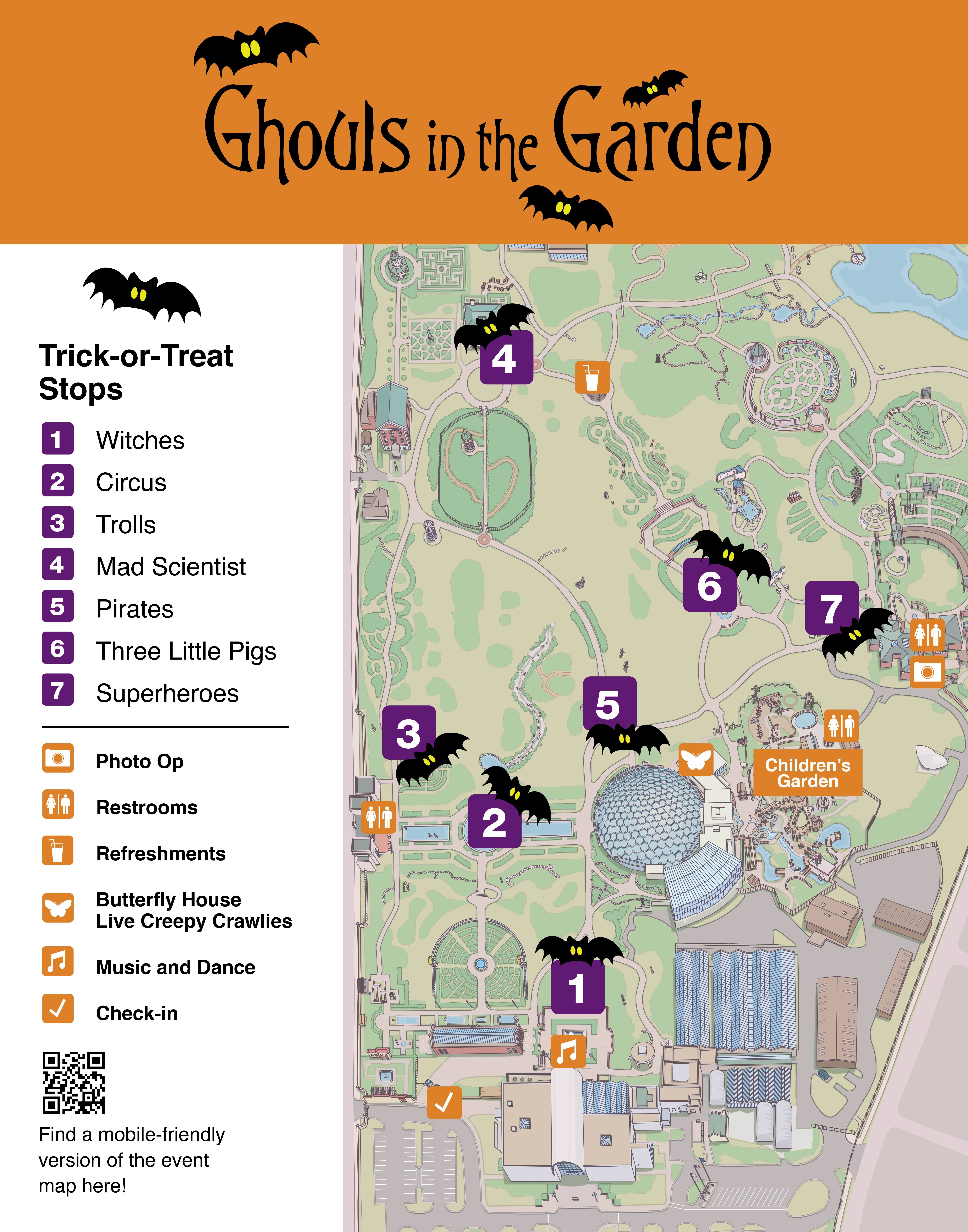 Member Event Ghouls In The Garden Missouri Botanical Garden