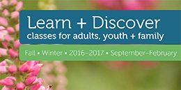 Learn and Discover - Fall/Winter 2016-2017