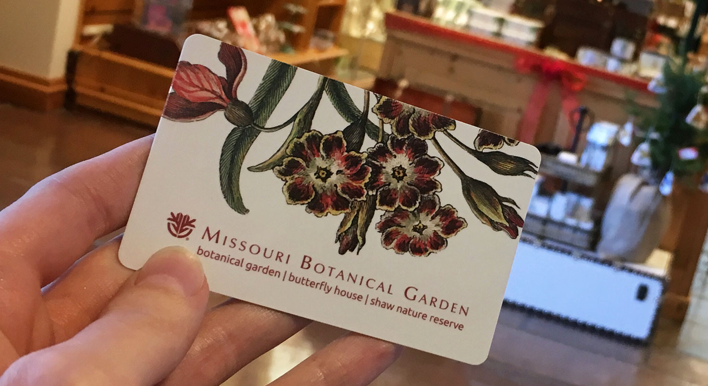 Garden gift card