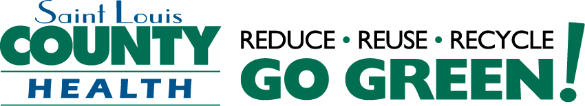 St. Louis County Health Go Green logo