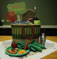 A waste free picnic basket
