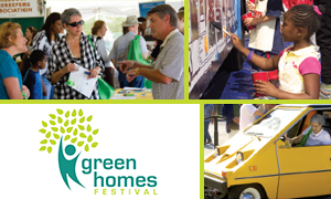 Green Homes Festival photo collage