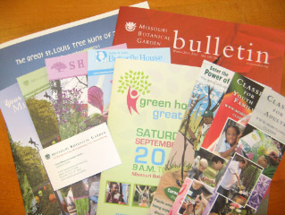 Samples of the Garden's Publications work