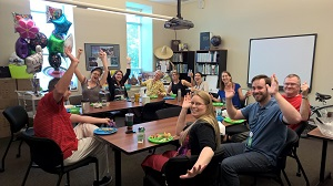 EWC Staff Celebrate