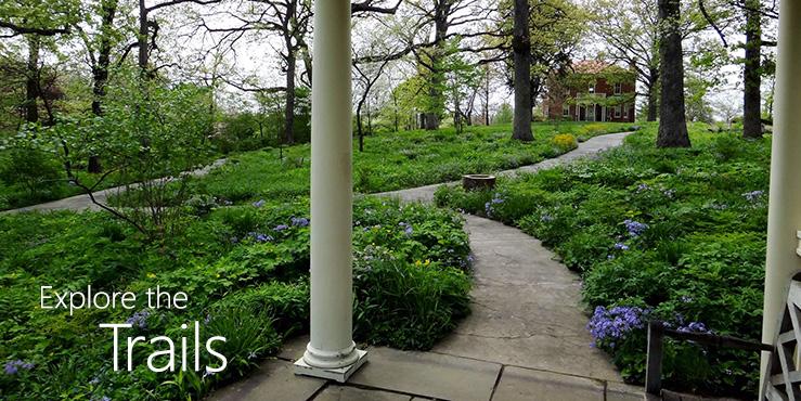 Explore the Trails: paths near Bascom House