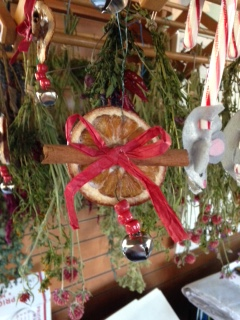 Decorating  for the Holidays with Natural Materials
