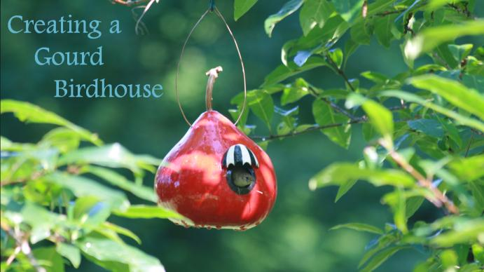 Visual Guide: Gourd Birdhouse Demo