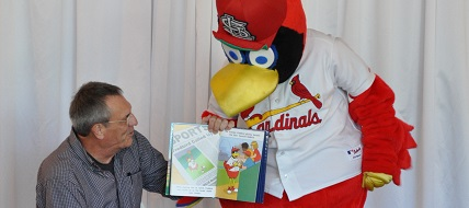 Fredbird and Steven Kveton 2