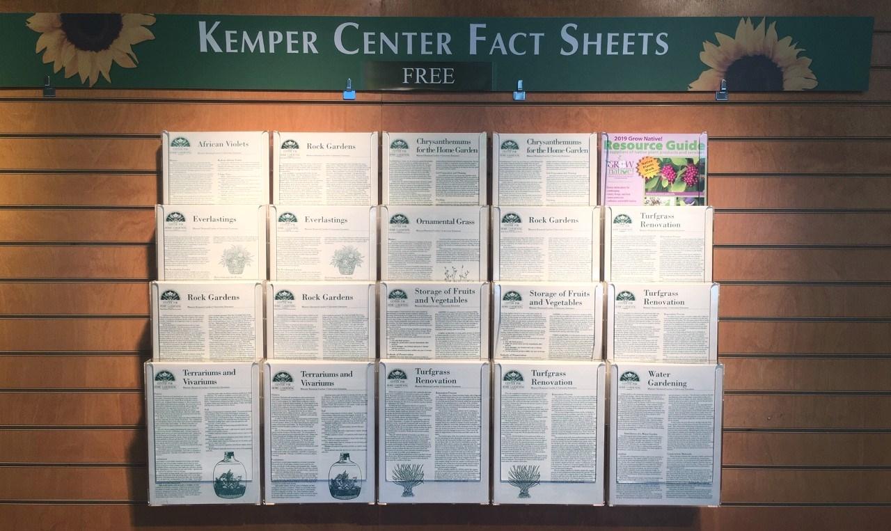Kemper Center Factsheets