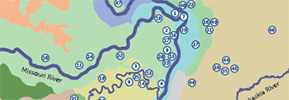 Nearby Nature map