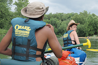 ECO-ACT canoe trip