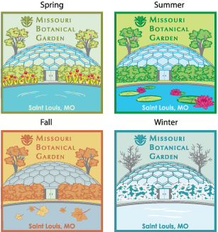 Missouri Botanical Garden scout badges