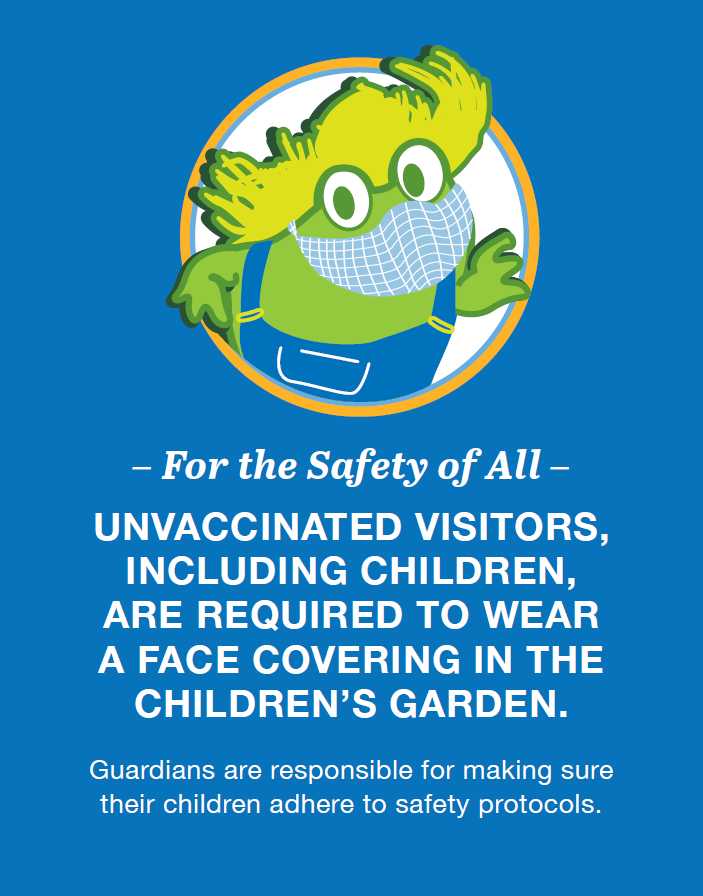 Masks required for all unvaccinated including children