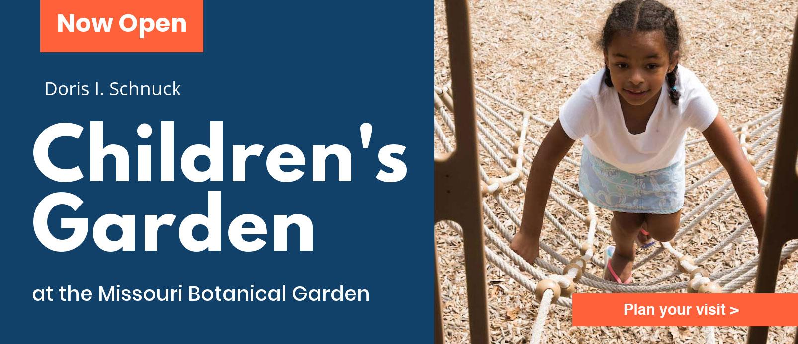 Children's Garden banner