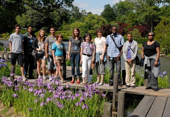 REU Group Japanese Garden