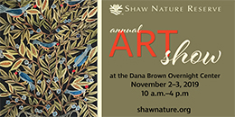 Shaw Nature Reserve Annual Art Show