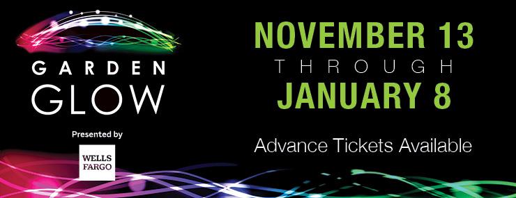 Garden Glow | November 13 through January 8