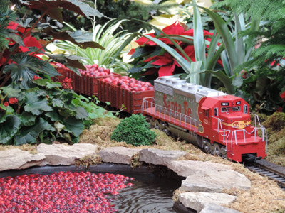 Feast on Holiday Fun at the 2013 Gardenland Express Show