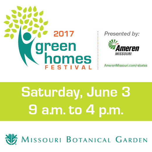 See you there! Green Homes Festival - Saturday, June 3, 2017