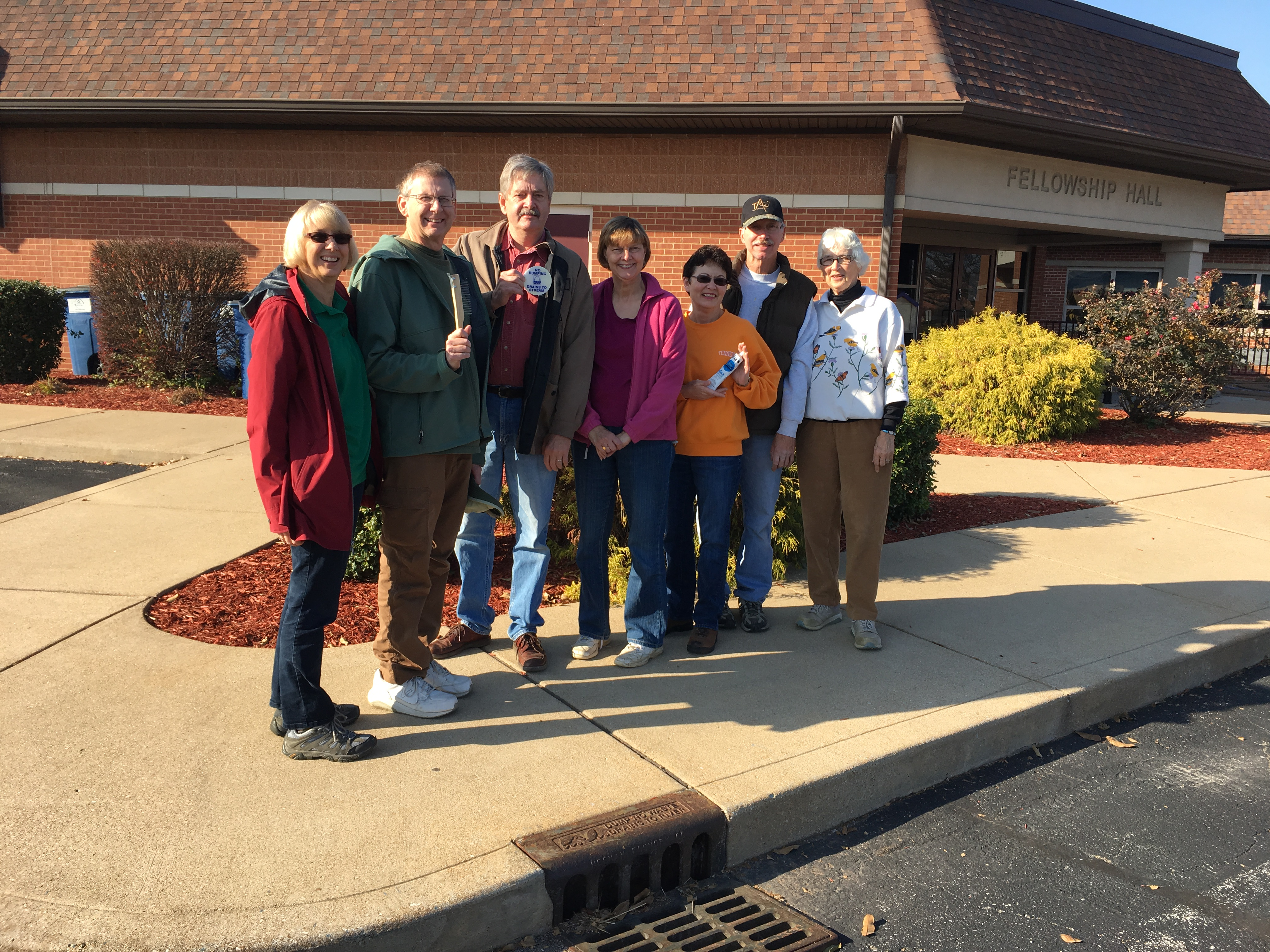 Concord Trinity Lutheran Church's Storm Drain Marking Campaign