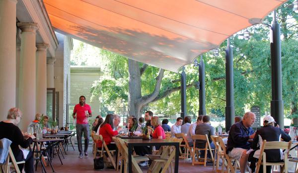 Cafe Flora patio