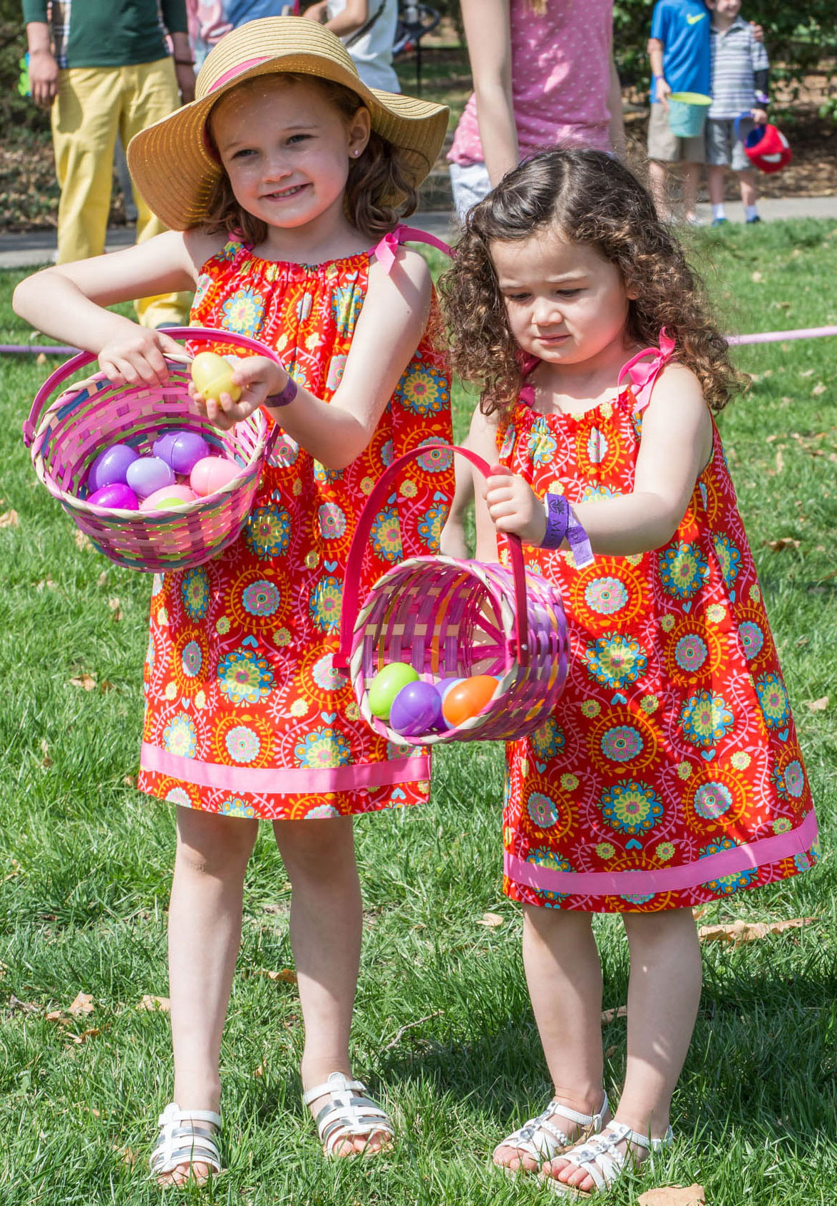 Eggstravaganza baskets