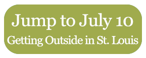 Jump to July 10 - Getting Around St. Louis