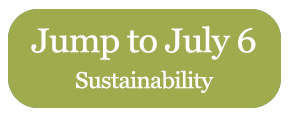 Jump to July 6 - Sustainability